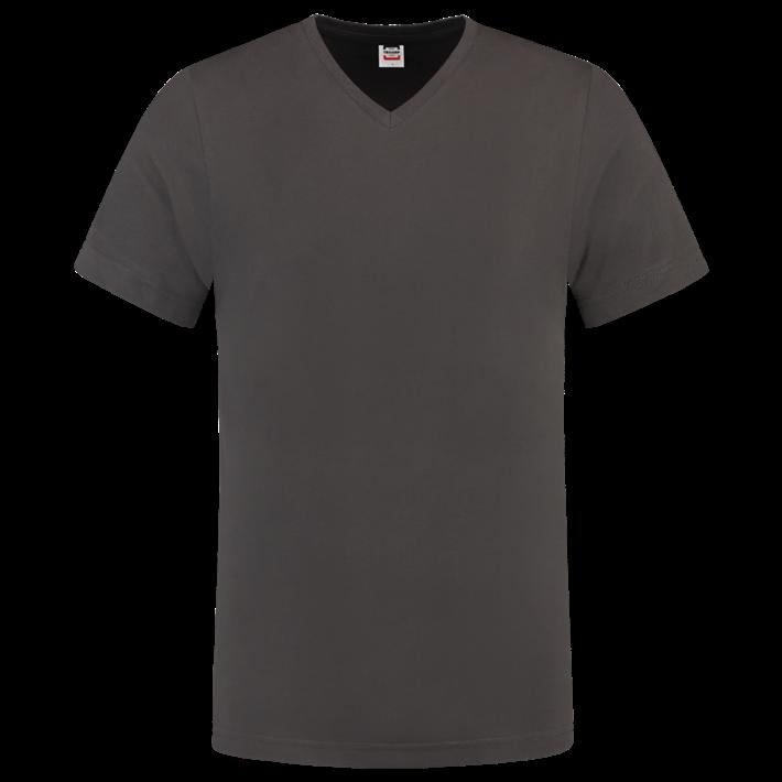 Tricorp T-shirt Vhals SlimFit Darkgrey