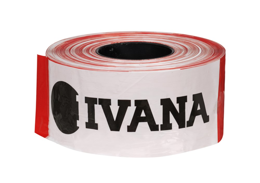 Ivana Afzetband rood-wit