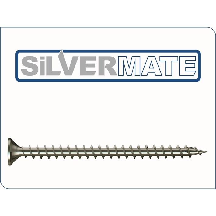 Silvermate spaanplaatschroeven