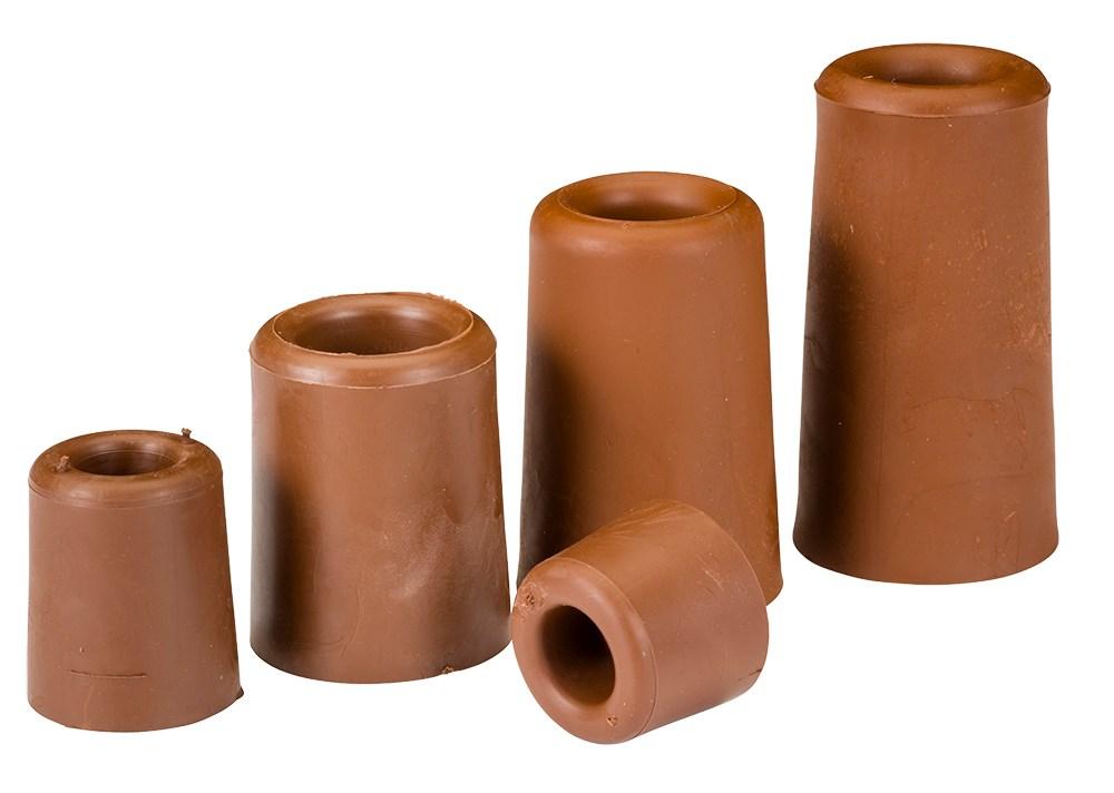 GRIPLINE Deurbuffers 25 mm bruin