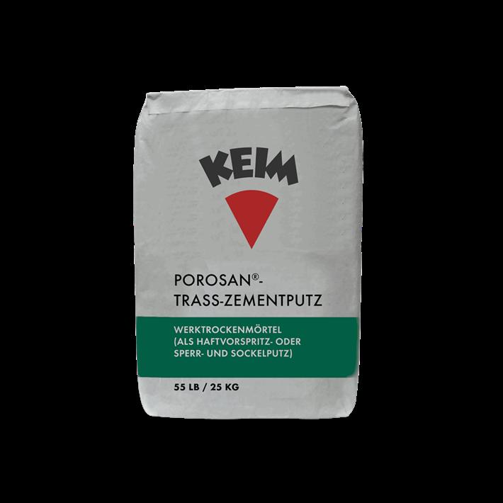 Keim Porosan-Trass-Zementputz
