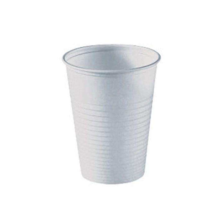 Huhtamaki drinkbeker ps wit 2,8gr 180cc