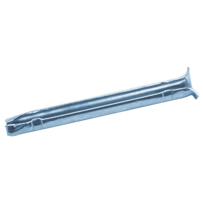 Spanhulzen staal gehard verzinkt | Spring pins zinc plated | Blitzdübel verzinkt | Douilles de serrage zinguées