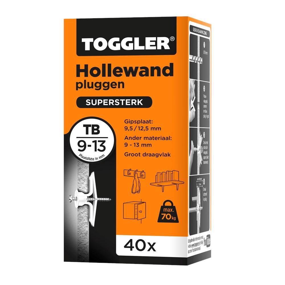 Toggler Hollewandplug TB doos met 40 pluggen.tif