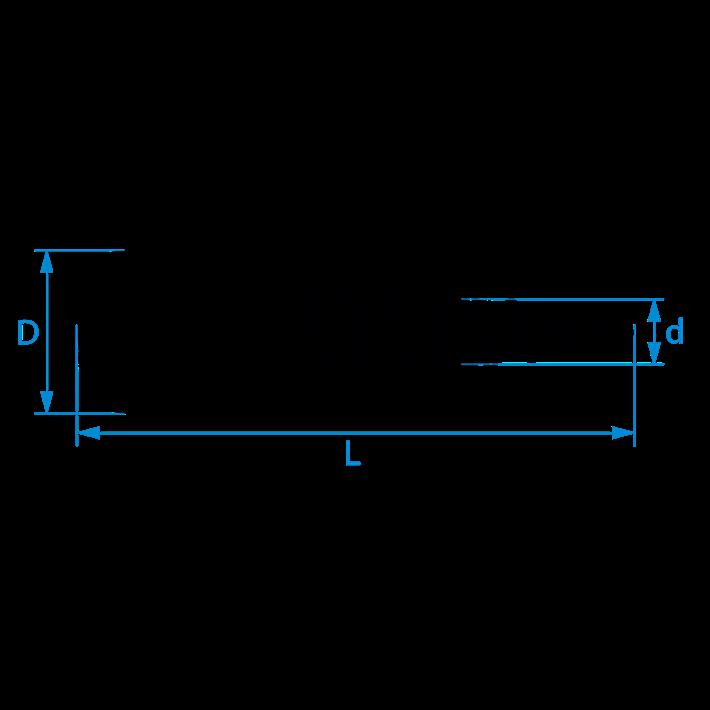 HPL-plaatschroeven tekening | HPL fixing screws drawing | HPL Platten Schrauben Zeichnung | Vis pour panneaux HPL plan