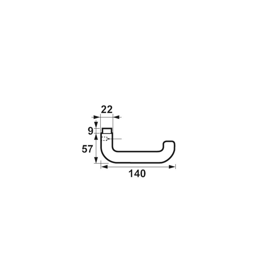 deurkruk U gatdeel product maattekening 6141-80.png