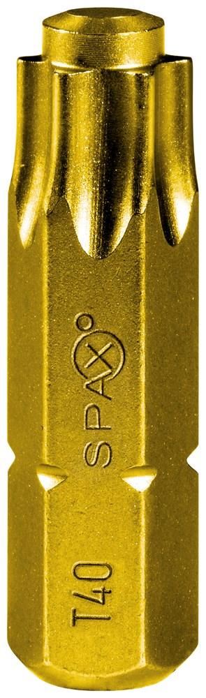 SPAX BIT TORX 40 T-STAR 5ST