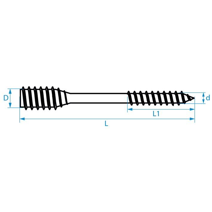 Afstandschroeven | Spacer screws | Distanzschrauben | Vis d'ajustage
