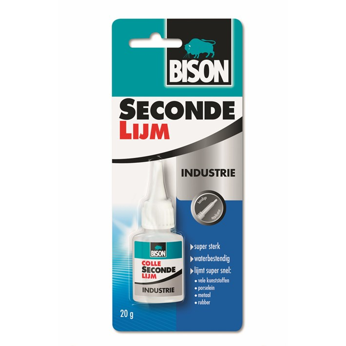 1490154 BS Secondelijm Industrie Flacon 20 g NL/FR