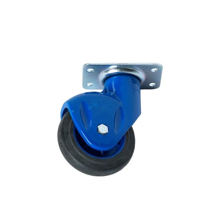 """Zwenkwiel NB-PB serie 4""""/100mm,kunststof laag model (NIEUW)"""