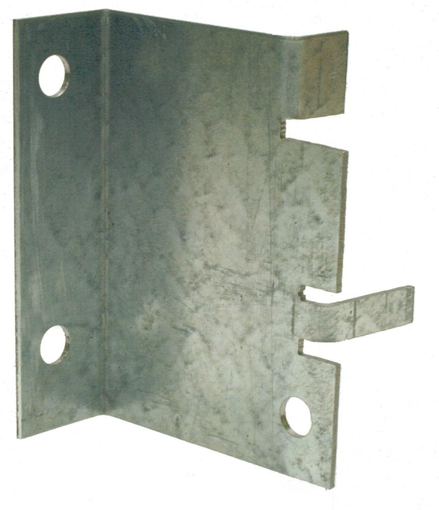 Muurplaatmontageplaat, sendzimir verzinkt