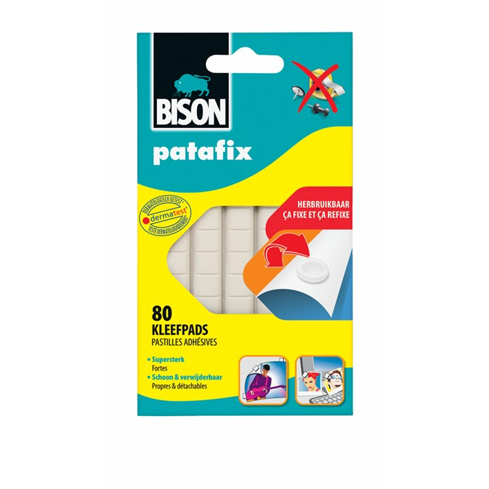 6309078 BS Patafix White 80 pads