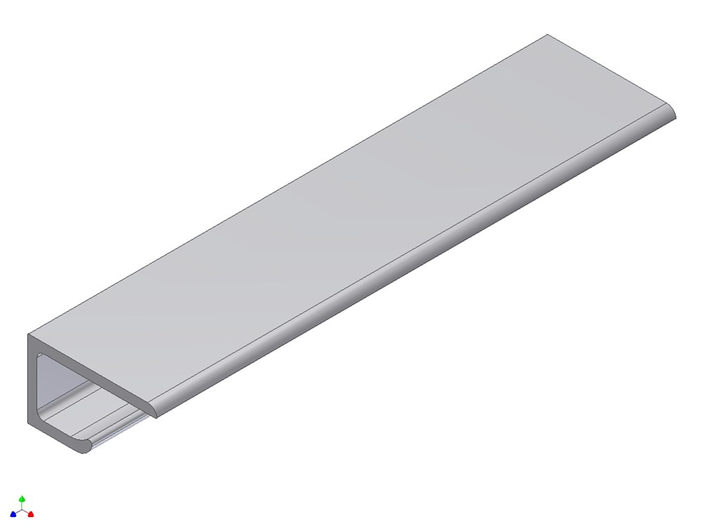 Koppelprofiel, aluminium