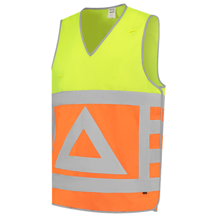 Tabard Verkeersregelaar 453011 Fluor Orange-Yellow