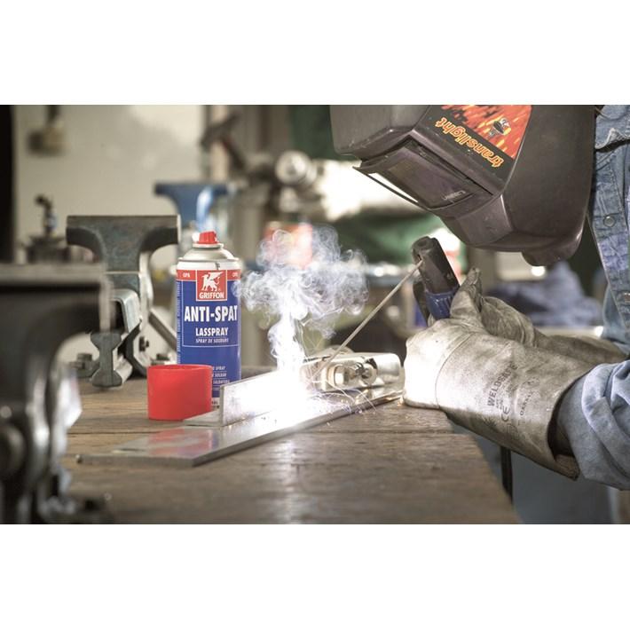 1235007 GR Anti-Spat Lasspray 400 ml welding steal plate