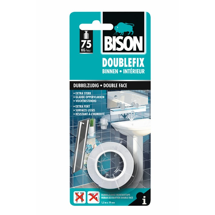 1493044 BS Doublefix Indoor Fix 19mm x 1,5m NL/FR