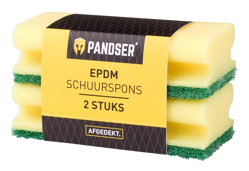 PANDSER® EPDM éponge à récurer lot de 2 pcs