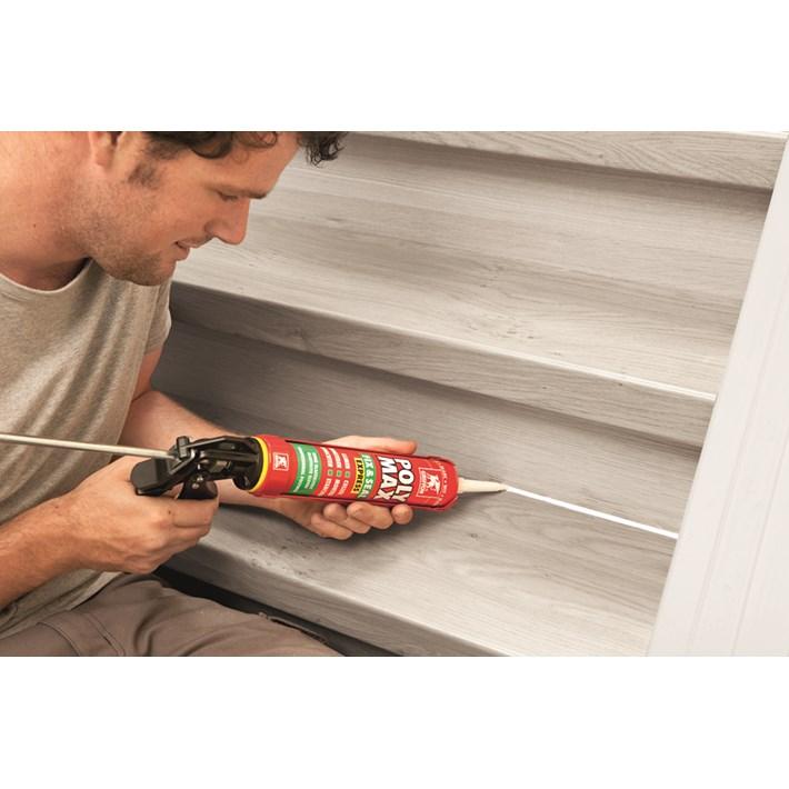 6150450 GR Poly Max® Fix & Seal Cartridge 425 g White NL/FR