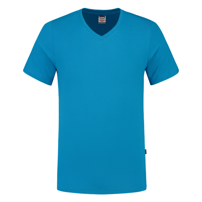 Tricorp T-shirt Vhals SlimFit Turquoise