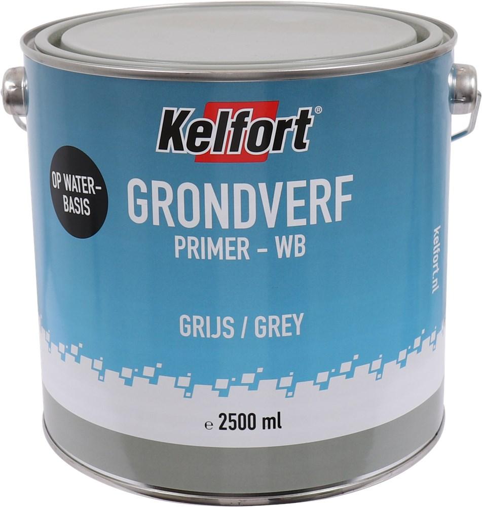 KELFORT GRONDVERF GRIJS WATERBASIS 2500ML