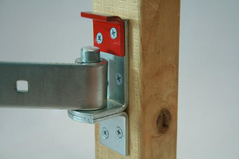 Plaatduim beveiliging, elektrolytisch verzinkt