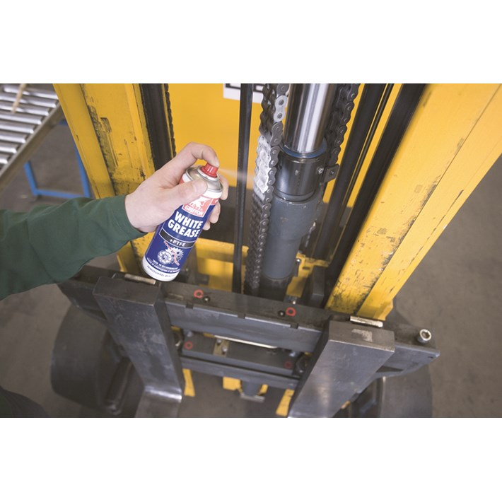 1233275 GR White Grease +P.T.F.E. 300ml NL/FR Lubricate chain of a fork-lift truck