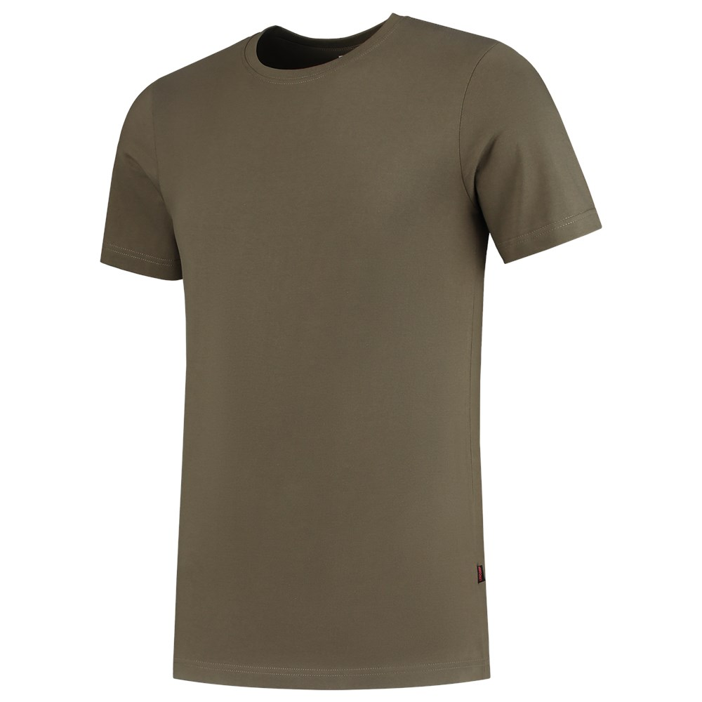 T-Shirt Fitted 101004 Army 4XL