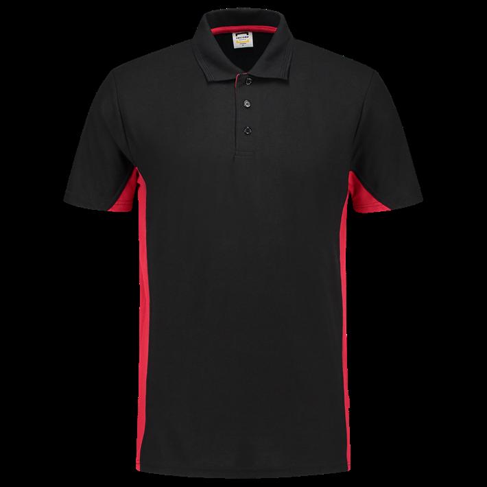 Tricorp Poloshirt Bicolor Black Red
