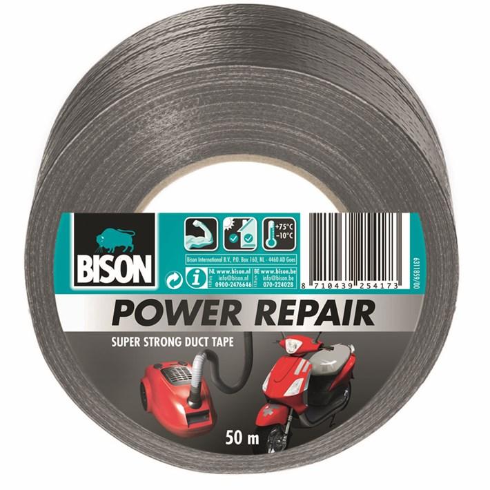 6311859 BS Power Repair Tape Grey 50 m NL/FR