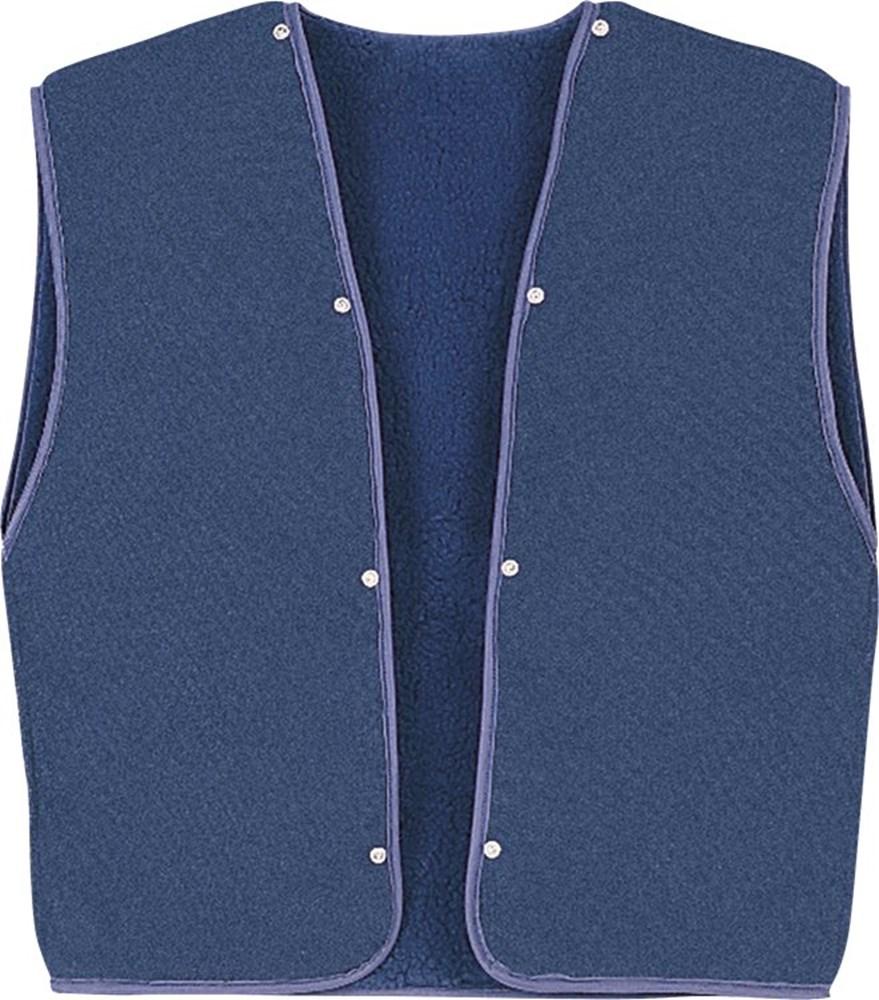 Vest, polyester/katoen