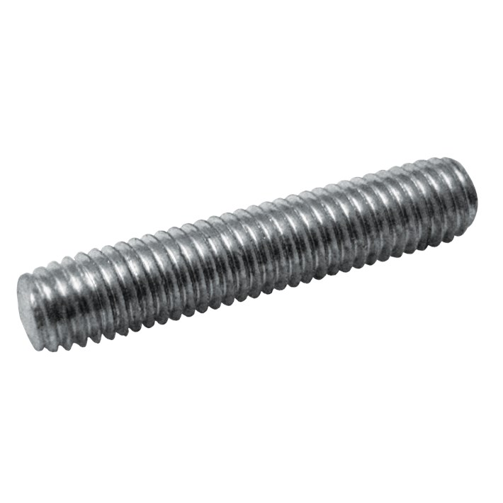 Draadstukjes DIN976A ijzer gegalvaniseerd | Threaded studs DIN976A iron galvanized | Gewindestücke DIN976A Eisen glanzverzinkt | Tiges filetées DIN976A acier zingué