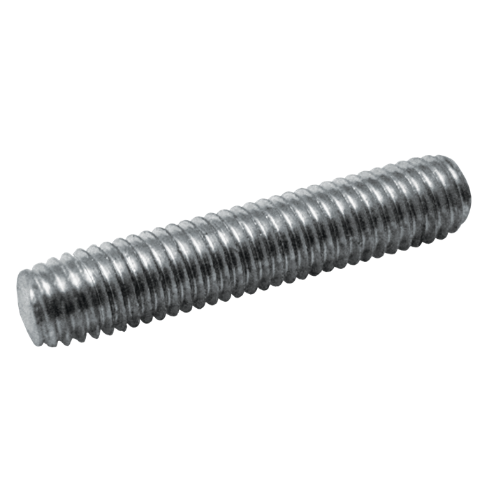 Draadstukjes 4.6 gegalvaniseerd | Threaded studs 4.6 galvanized | Gewindestücke 4.6 glanzverzinkt | Tiges filetées 4.6 zingué