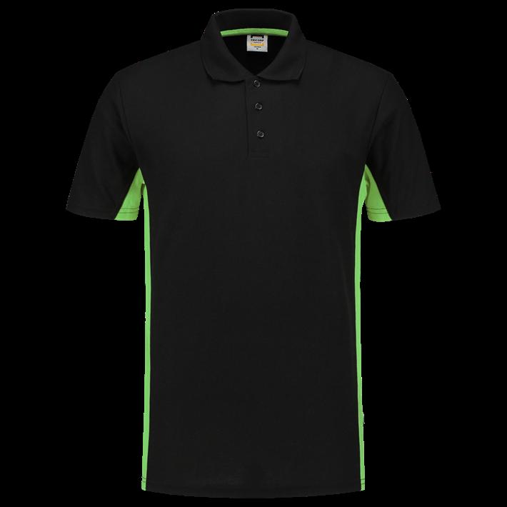 Tricorp Poloshirt Bicolor Black Lime