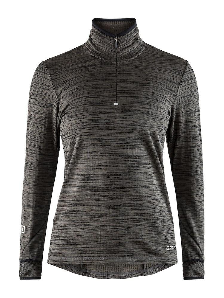 Sweater, polyester/elastaan microfleece