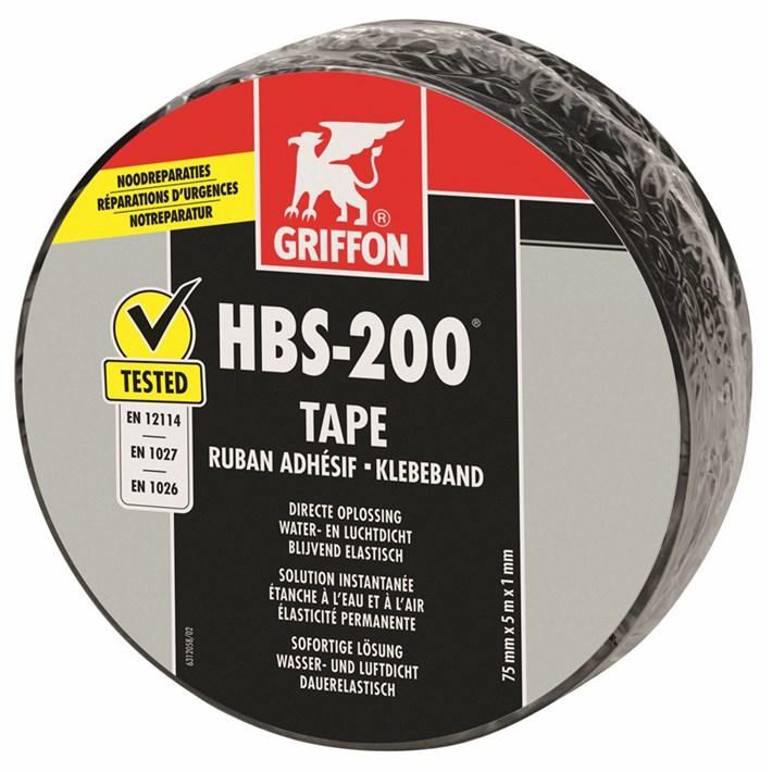 6312056 Griffon HBS-200® Tape Roll 7,5 cm x 5 m NL/FR/DE