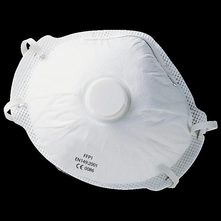 Stofmaskers fijnstof FFP 1 QS | Dust masks fine-dust FFP 1 QS | Staubmasken Feinstaub FFP 1 QS | Masques antipousserières FFP 1 QS