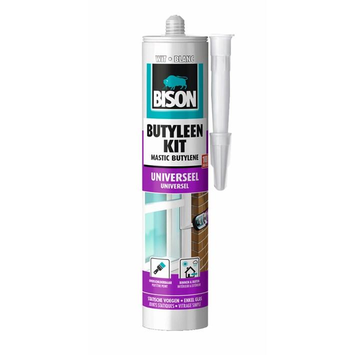 1491005 Bison Butylene Sealant White Cartridge 300 ml NL/FR