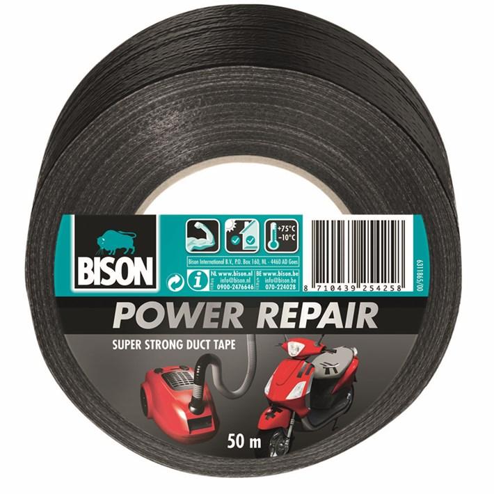 6311865 BS Power Repair Tape Black 50 m NL/FR