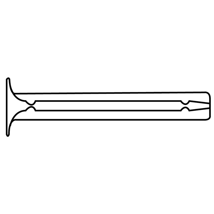 Spanhulzen DTL tekening | Spring pins DTL drawing | Blitzdübel DTL Zeichnung | Douilles de serrage DTL plan