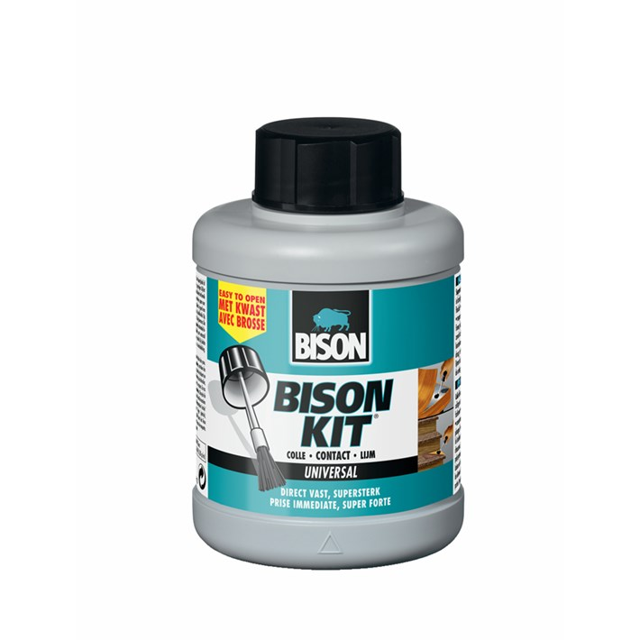 6300542 BS Bison Kit® pot with brush 400 ml NL/FR