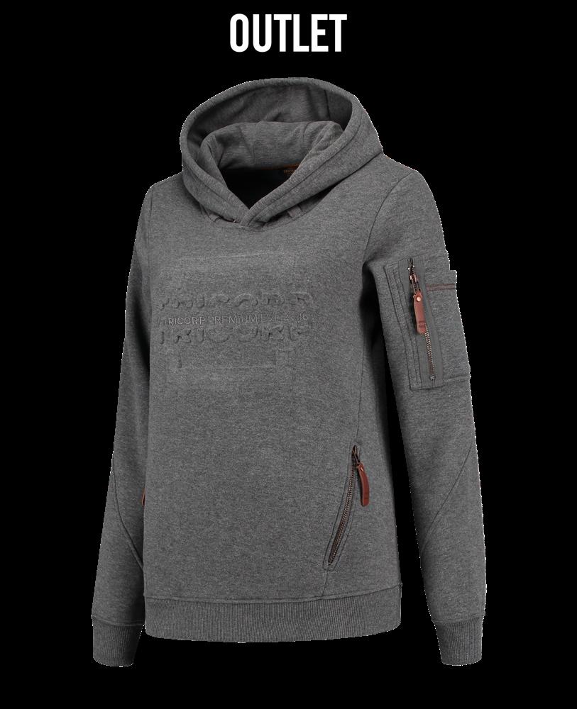 Trui Met Capuchon Dames.Sweater Premium Capuchon Logo Dames Tricorp