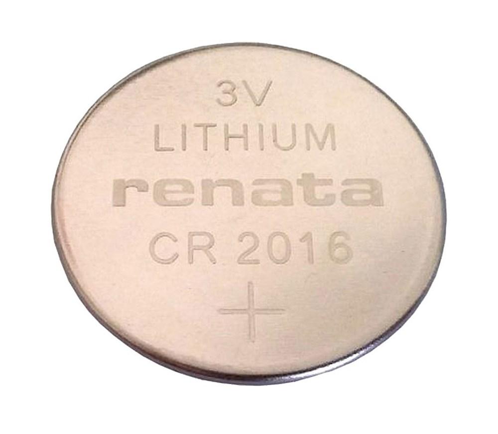 RENATA KNOOPCEL CR2016 3.0V