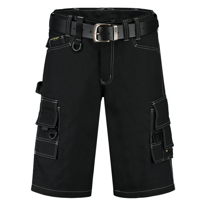 Tricorp Werkbroek Canvas Kort Black