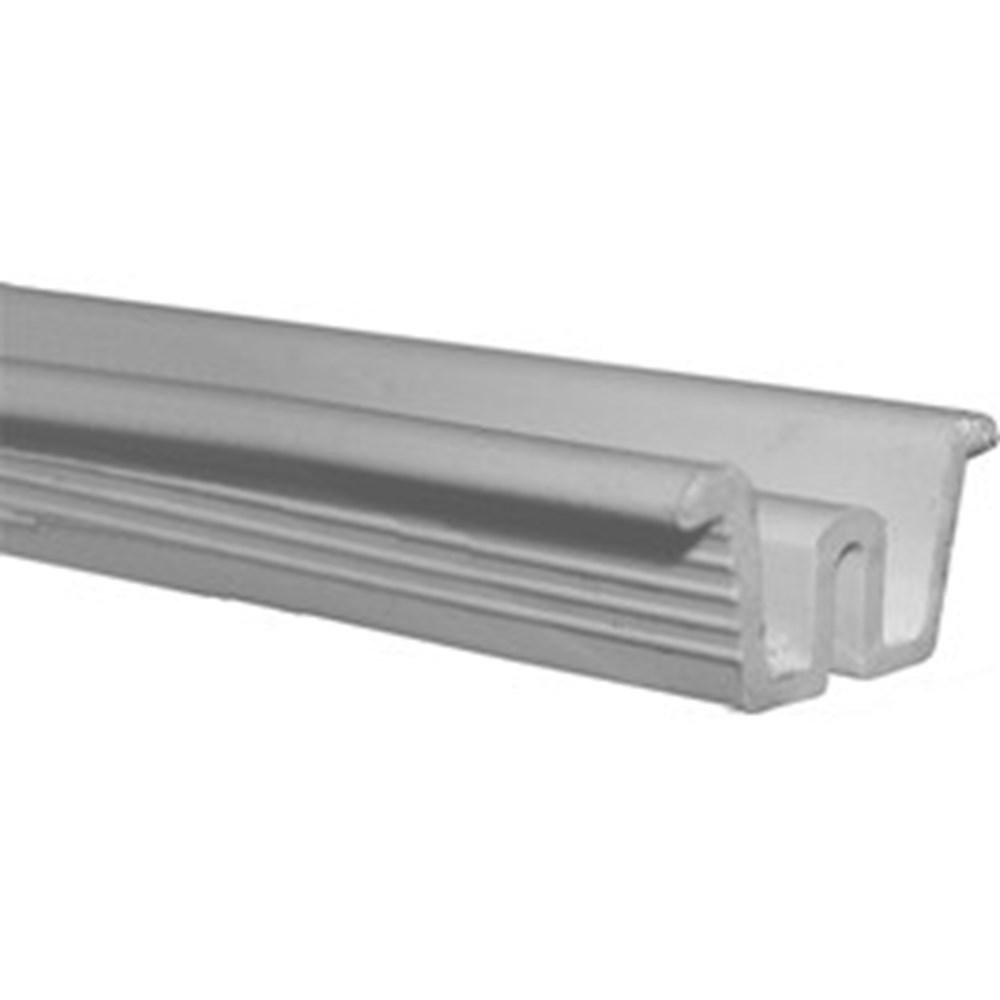 SCHUIFDEURRAIL PVC BRUIN 2000