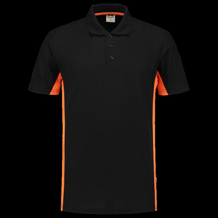 Tricorp Poloshirt Bicolor Black Orange