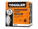 Toggler Hollewandplug TB doos met 100 pluggen.tif