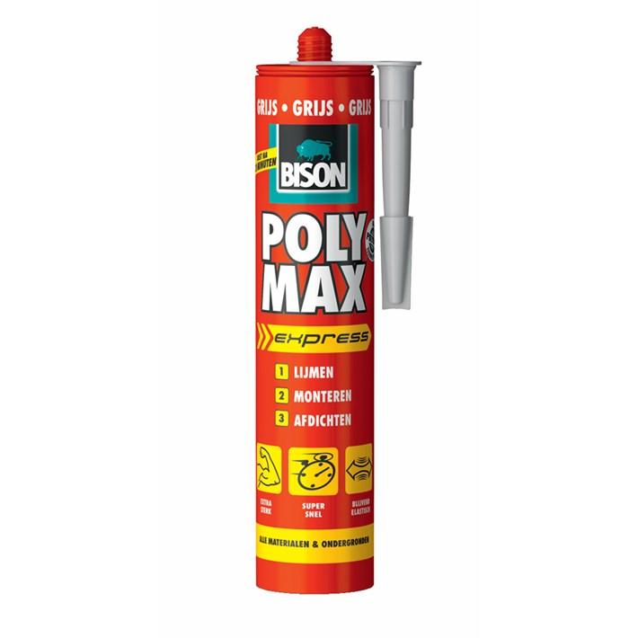 6309306 BS Poly Max® Express Cartridge 425 g Grey NL