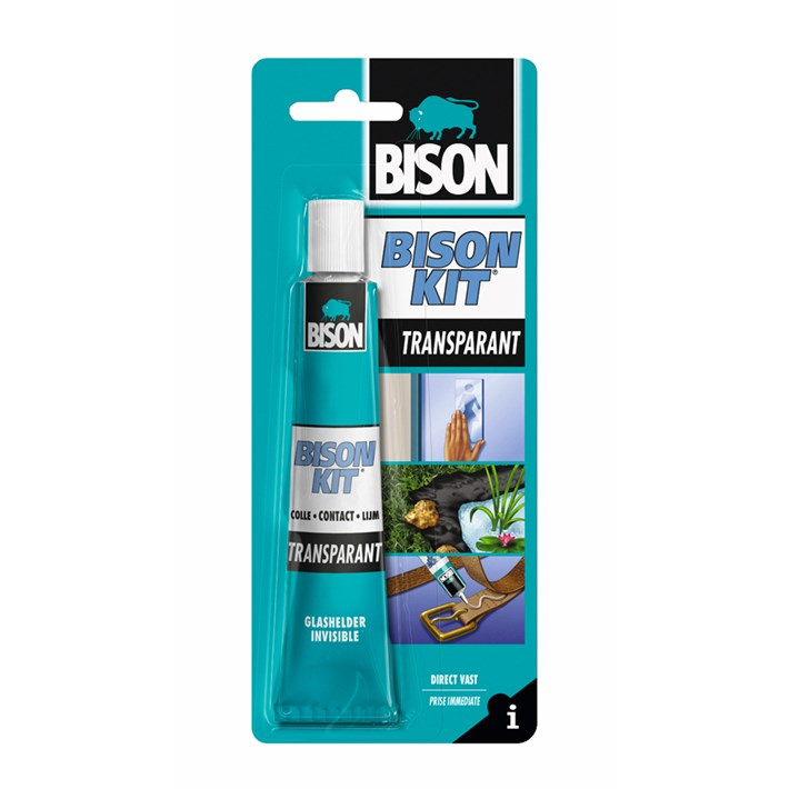 6305948 BS Bison Kit® Transparant Card 50 ml NL/FR