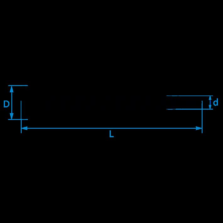 Spaanplaatschroeven platkop Torx tekening | Chipboard screws countersunk head Torx drawing | Spanplattenschrauben Senkkopf Torx Zeichnung | Vis à bois tête fraisée Torx plan