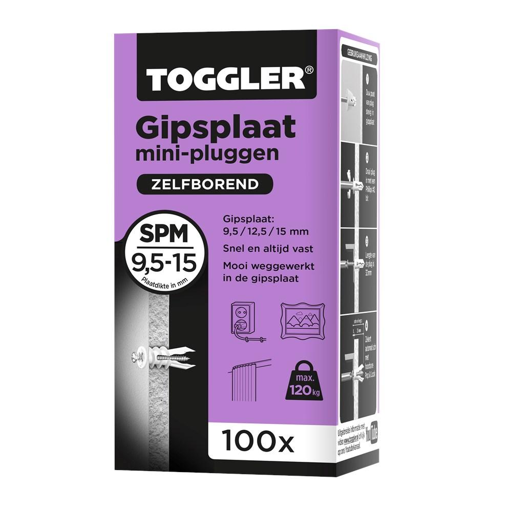 Toggler Gipsplaatplug SPM doos met 100 pluggen.tif